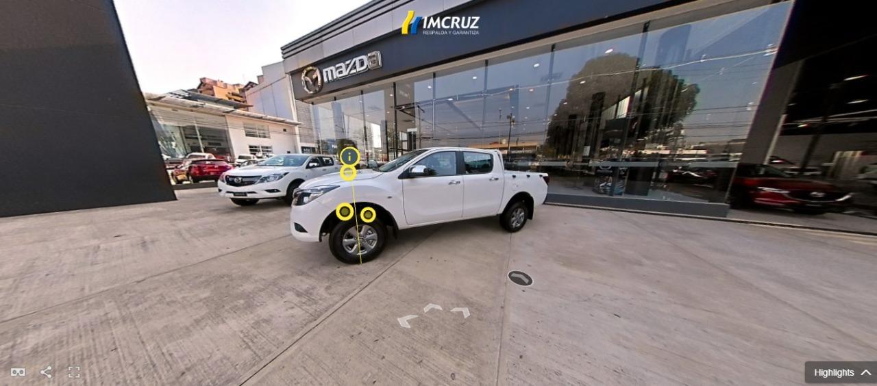Showroom virtual de Imcruz expone vehículos en 360°