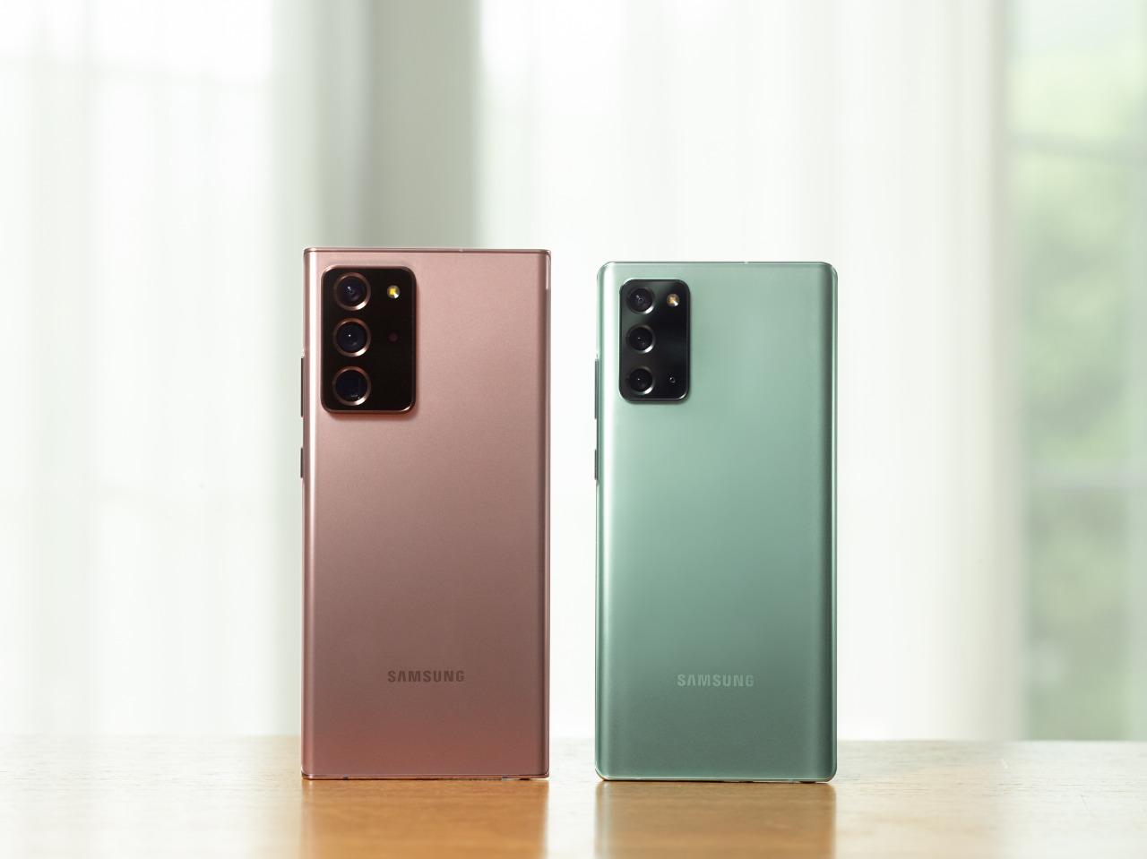 Samsung incluye seguro de pantalla para compras online de smartphones Galaxy S20 y Note 20