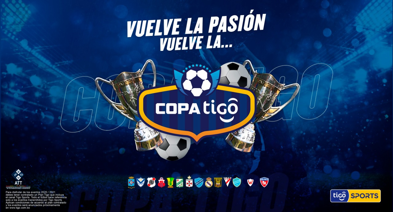 Vuelve el fútbol nacional, vuelve la Copa Tigo por Tigo Sports