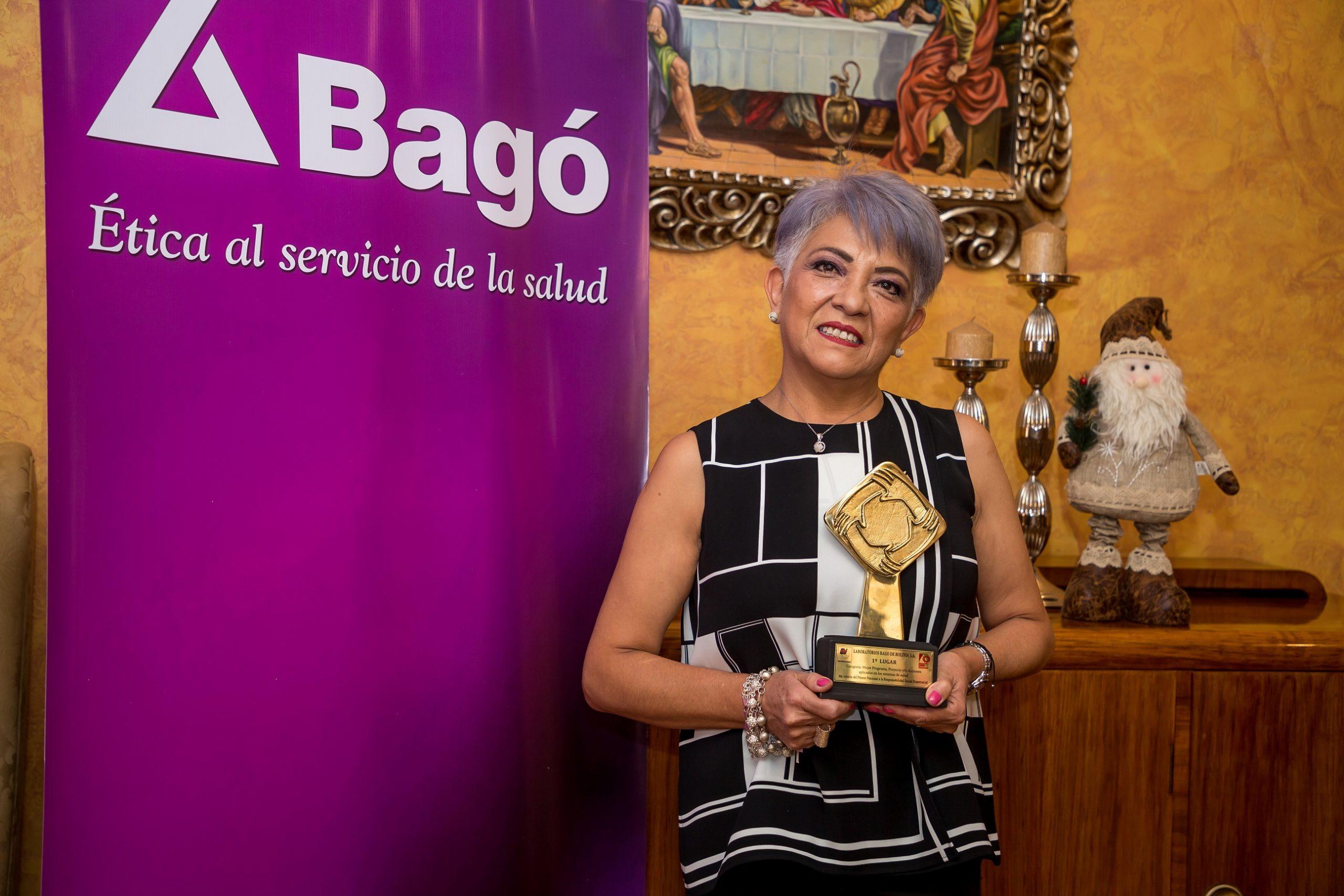 La CNI distingue a Laboratorios Bagó por su aporte en la lucha contra la pandemia