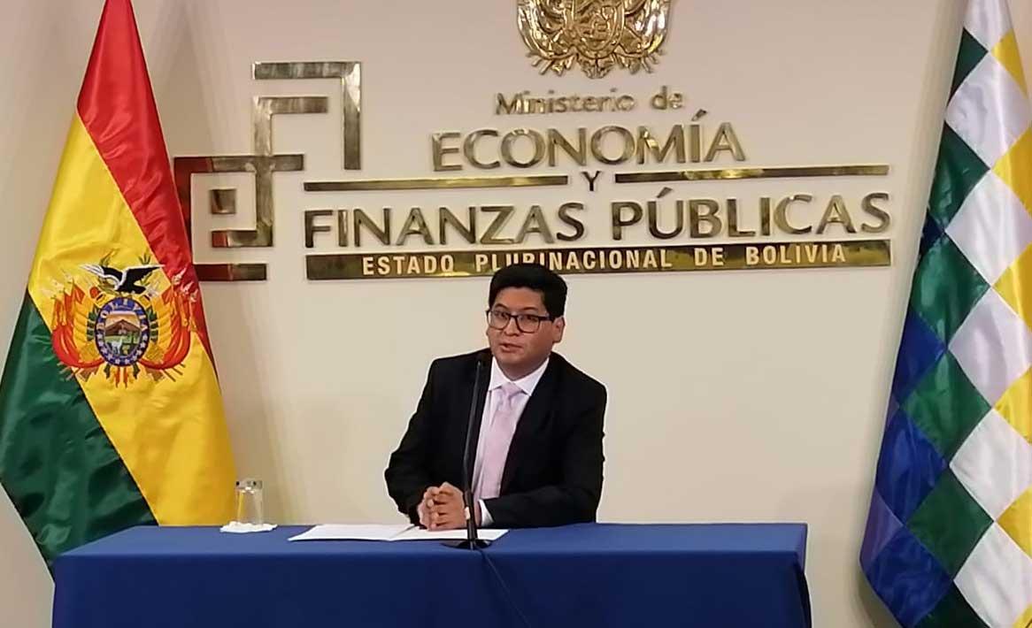 Ministro Montenegro proyecta al 2021 como un año esperanzador para la economía boliviana