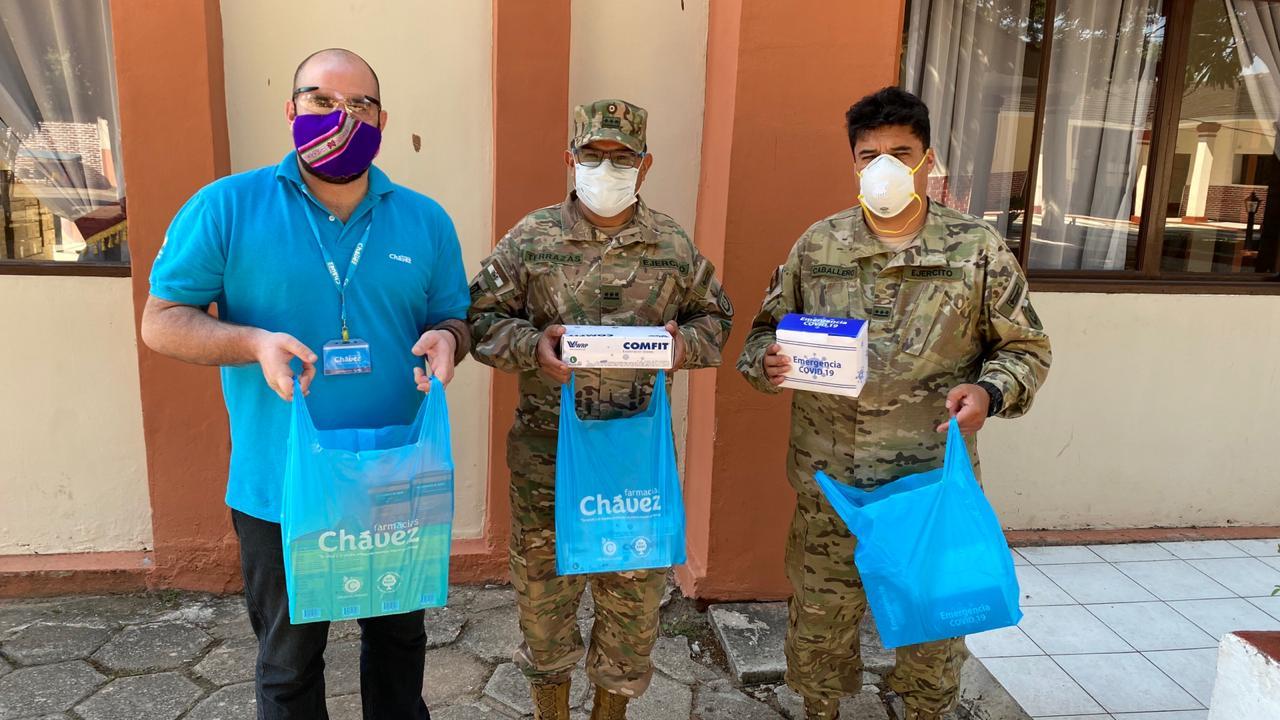 Iniciativas solidarias de Farmacias Chávez benefició a 13 instituciones en el 2020