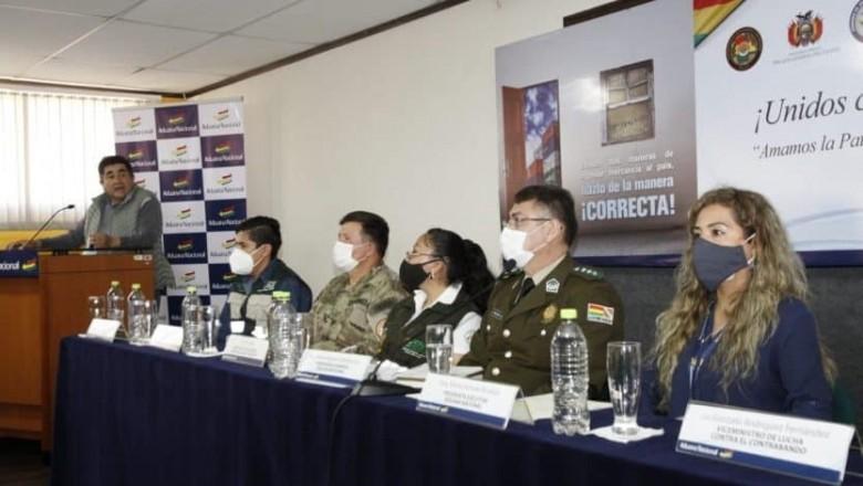 Aduana refuerza operaciones para desarticular clanes de contrabandistas en el sur de Bolivia