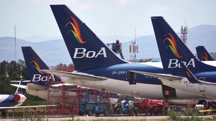 BoA recibe inyección de Bs 37,4 millones para su reflotamiento