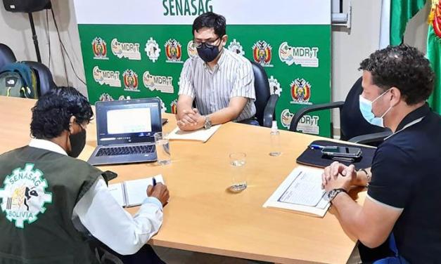 Senasag y empresarios coordinan acciones para agilizar trámites de exportación de productos alimenticios