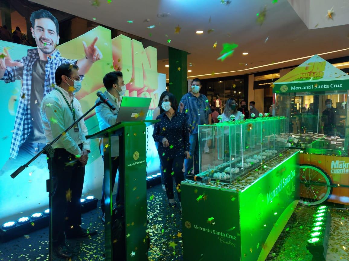 El millón de bolivianos de la Súper Makro Cuenta del Banco Mercantil Santa Cruz ya tiene un ganador