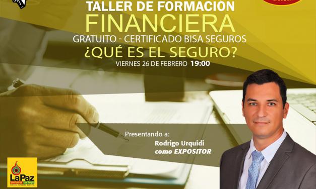 BISA Seguros participa en ciclo de webinars de capacitación para jóvenes bolivianos