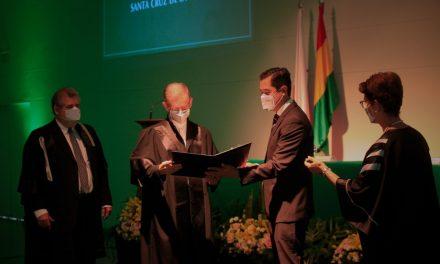 Investigador musicólogo Piotr Nawrot es Profesor Honoris Causa por la UPSA