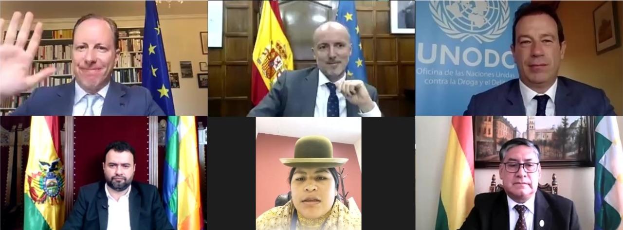 La UE, España y UNODC anuncian programa de apoyo a la justicia