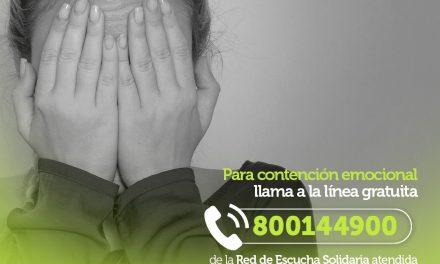 Fundación Viva reactiva línea gratuita para contención emocional ante la segunda ola del Covid-19