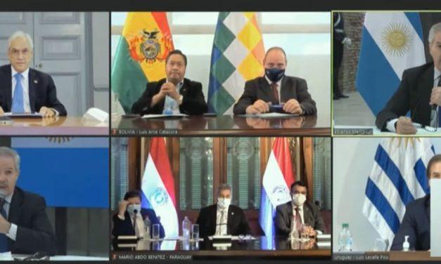 Bolivia reitera pedido de participación en el Mercosur como miembro pleno para contribuir en integración regional