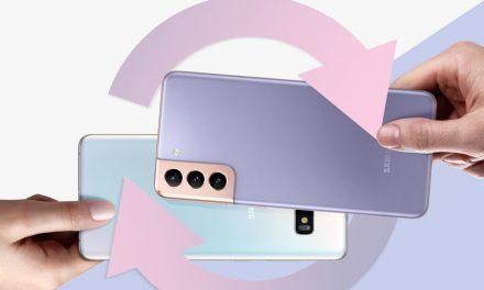 Ahorra dejando tu teléfono antiguo como parte de pago y llévate el nuevo Galaxy S21