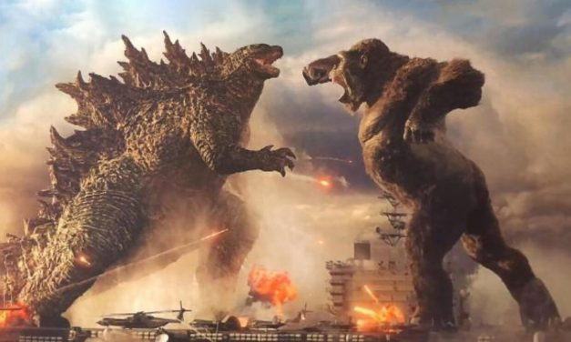 El rey de los monstruos y el regente de la isla calavera libran dura batalla en Cinemark