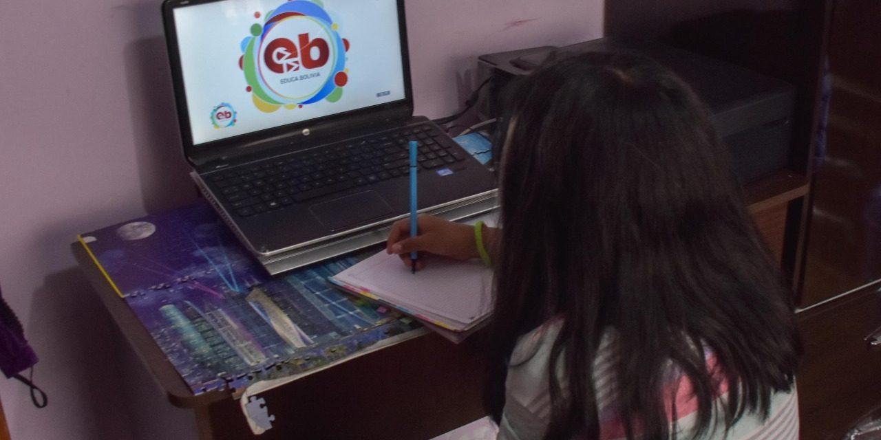 Diputados tratarán ley para transferir Bs 44 millones a programas de educación a distancia