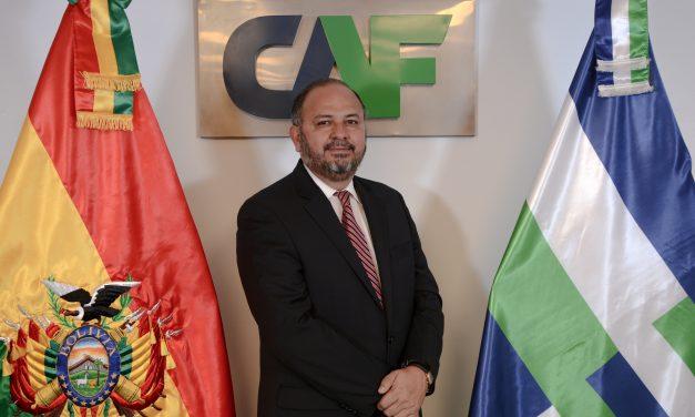 Florentino Fernández es el nuevo representante de CAF en Bolivia
