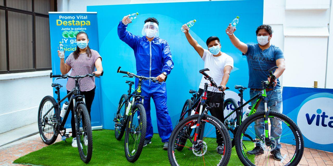 """EMBOL premia con 22 bicicletas a los primeros ganadores de la """"Promo Vital"""""""