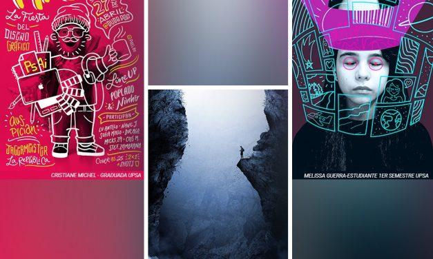 Diseñadores UPSA entre finalistas de Bienal del Cartel
