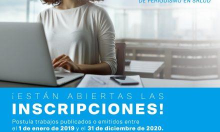 Inscripciones abiertas para el Premio Roche de Periodismo en Salud 2021