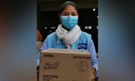 Kimberly-Clark Bolivia realiza donación a Municipios cruceños de más de 14 mil jabones Scott en spray