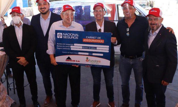 Fundare de Cainco, Empacar, y Nacional Vida se unen para apoyar a recolectores de residuos