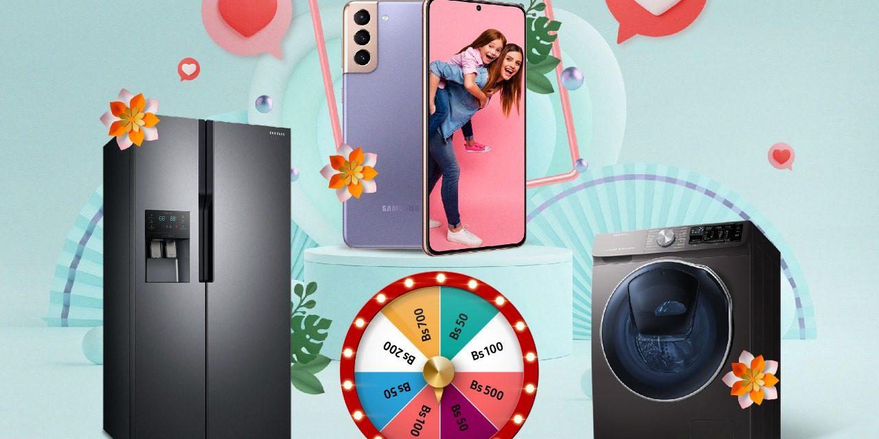 Samsung consiente a las mamás con un regalo doble
