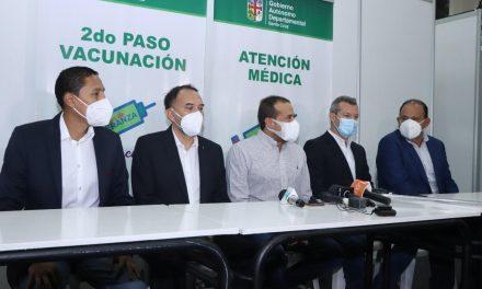 CAINCO apoya a autoridades de salud con la implementación de un pabellón de Fexpocruz para centro de vacunación Covid-19