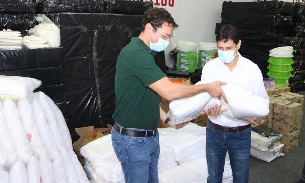 CAINCO entrega donación al Gobierno Autónomo Municipal de Montero para apoyar la lucha contra el coronavirus