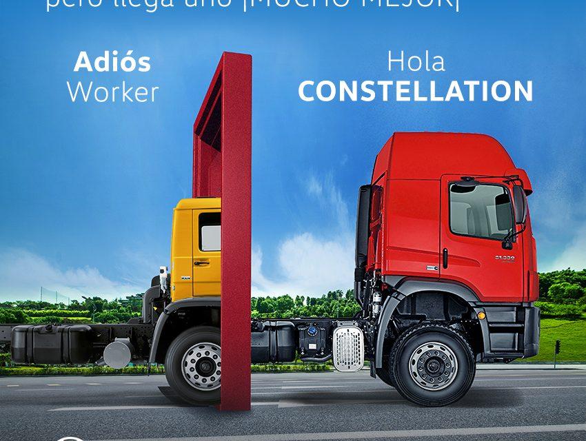 Volkswagen despide con un homenaje a su legendario camión Worker, dando paso a la nueva línea Constellation
