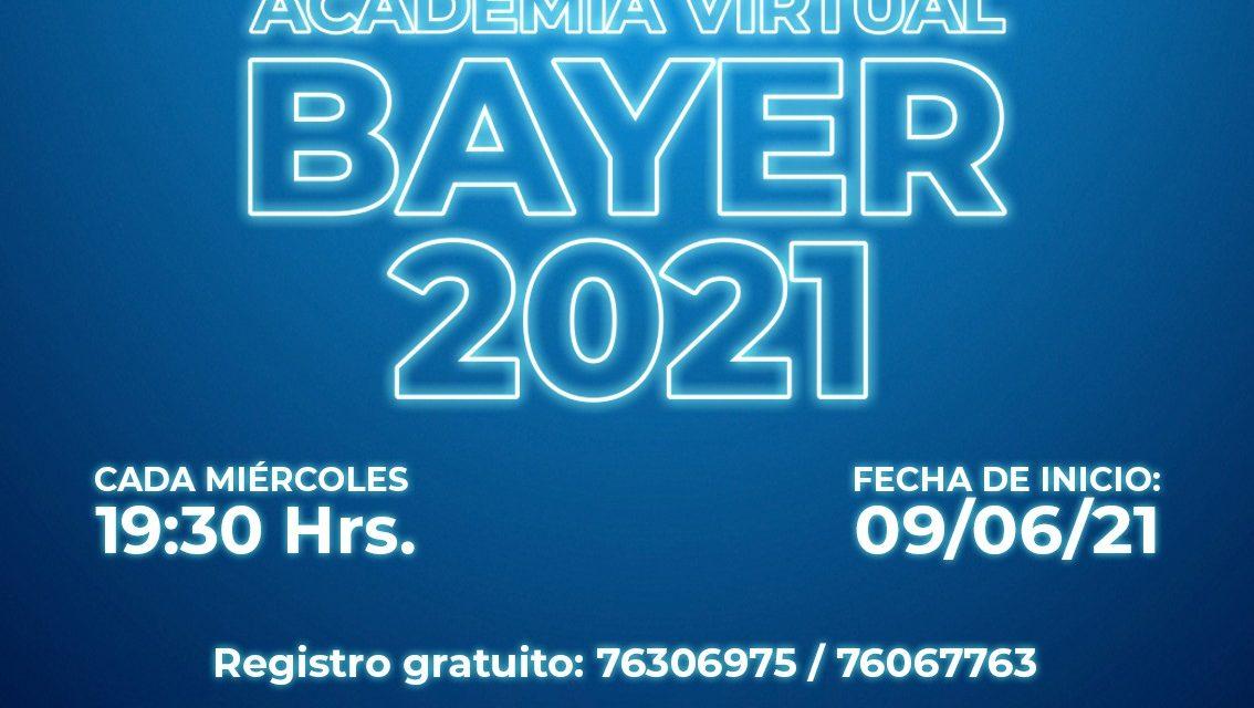 Segunda versión de la Academia Virtual Bayer