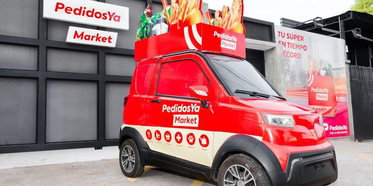 Market de PedidosYa crece 400% desde su lanzamiento con un tiempo récord de entrega de 19 minutos