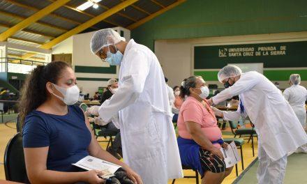 Coliseo de la UPSA inaugurado como punto de vacunación contra el Covid-19