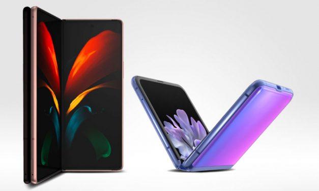 Samsung Galaxy Fold: La navegación en una pantalla plegable y desplegable permite mayor eficiencia