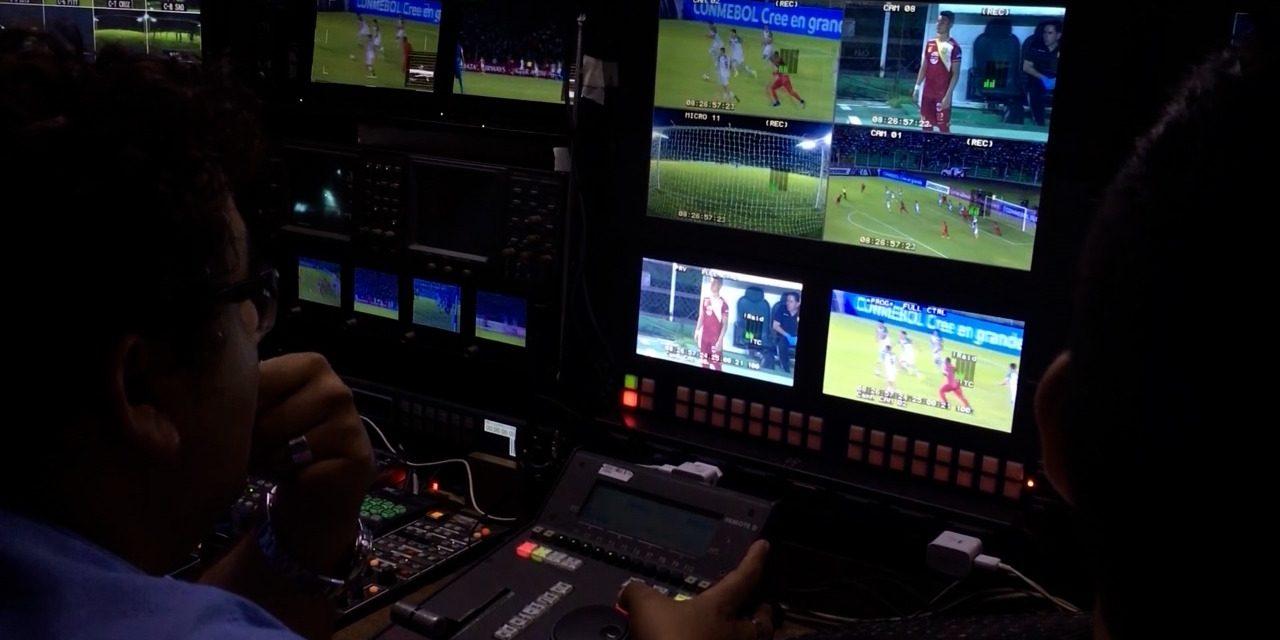 La magia de la imagen televisiva en el fútbol boliviano