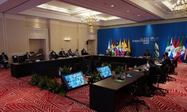 CAF promueve la nutrición infantil y la reactivación de América Latina con USD 1.345 millones