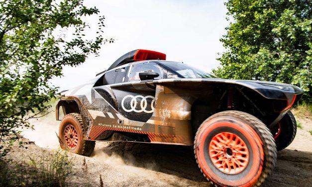 Audi apuesta por competir en el Dakar 2022 con un auto eléctrico