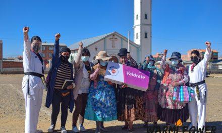 INTI y Warmi Power le dicen ¡No! a la violencia contra la mujer