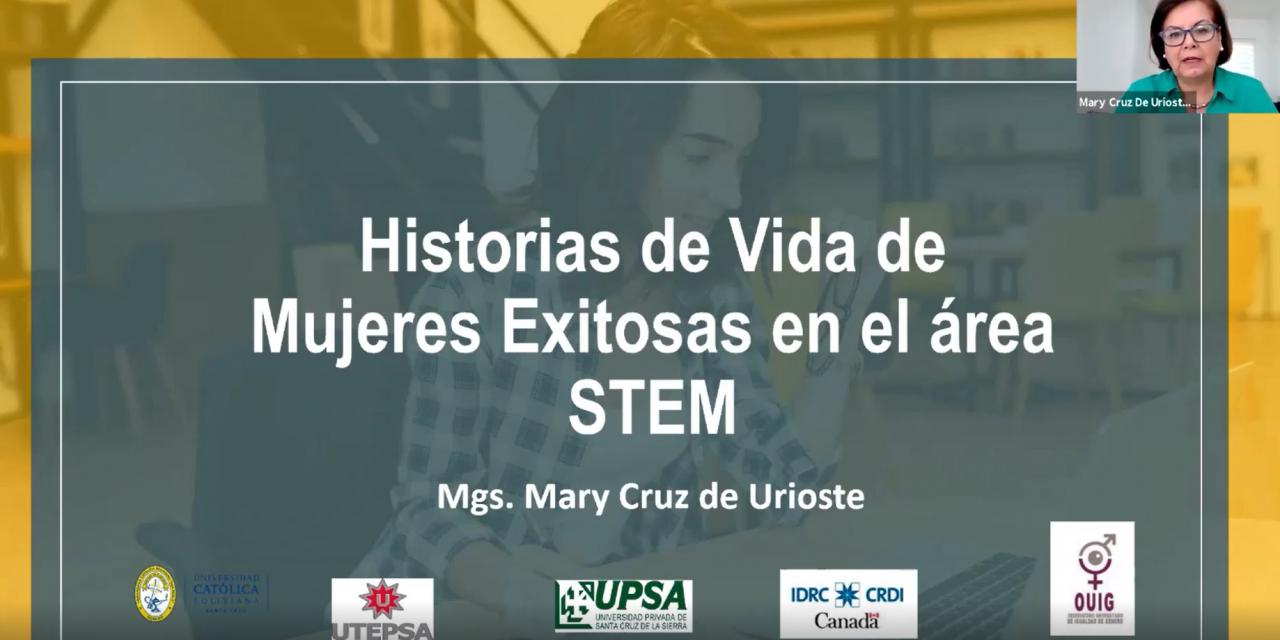 Investigación sobre el rol de las mujeres en áreas STEM