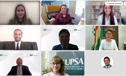 Estudiante de la UPSA de Bolivia gana el primer lugar en etapa nacional del Concurso Ideas para el Futuro 2021