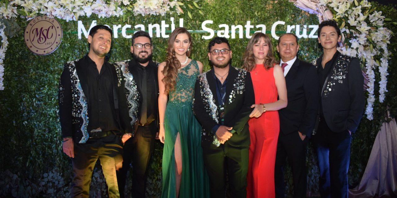 Banco Mercantil Santa Cruz Sponsor Fundador de Billboard Bolivia, patrocinó el Concierto Respira y estuvo presente en la Alfombra Verde