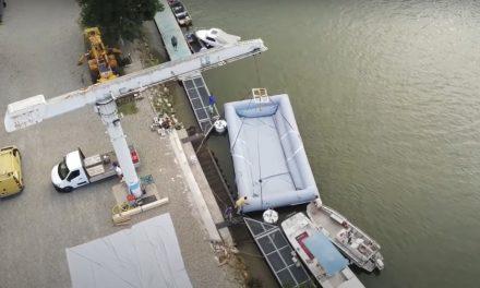 Proponen barcazas inflables y solares  para superar el bajo calado de la Hidrovía Paraguay–Paraná.