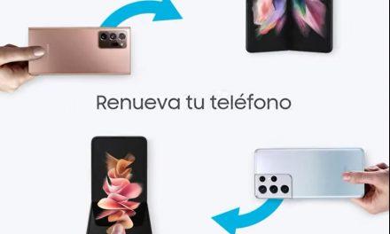 EVOLUCIONA A GALAXY: Ahora puedes dejar tu teléfono antiguo como parte de pago y llevarte un Samsung Z Fold 3 y Z Flip 3.